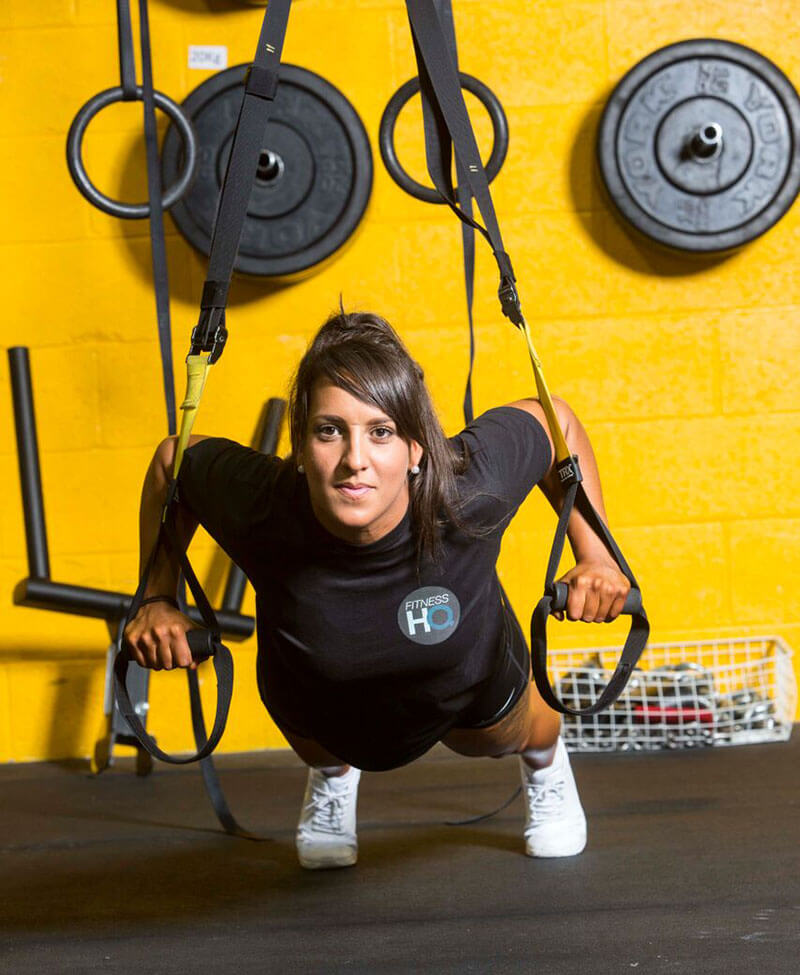 fitness HQ training facilities