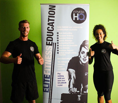 personal training courses with Fitness HQ